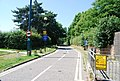 Cycle lane Entrance to UEA, Bluebell Rd - geograph.org.uk - 1387848.jpg