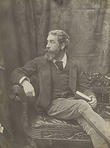 Cyril Flower, 1st Baron Battersea (early 1890s self-portrait) (cropped).jpg