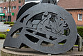 Dülmen, Buldern, Skulptur am Großen Spieker -- 2015 -- 5506.jpg