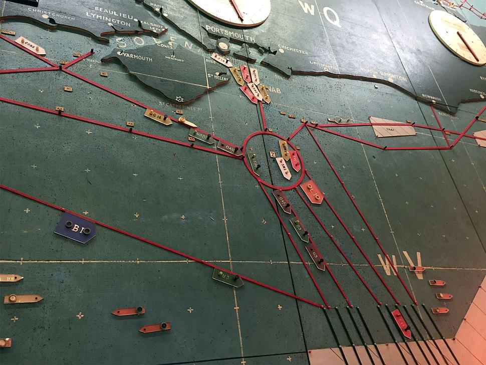 D-Day map, Southwick House