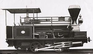 WAGR D class (1884) - Builder's photograph of D6