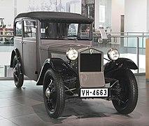 DKW F1 Limousine, Bj. 1931 (museum mobile 2013-09-03).JPG