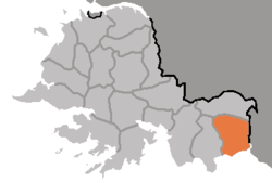 Location of Paech'ŏn County
