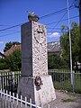 Dad, Fő utca 57. - I. és II. világháborús emlékmű, (1990). - Dad13.jpg