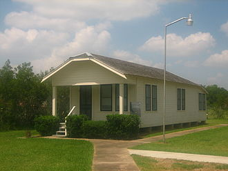 Dan Rather - Rather's boyhood home being restored at the Wharton County Museum