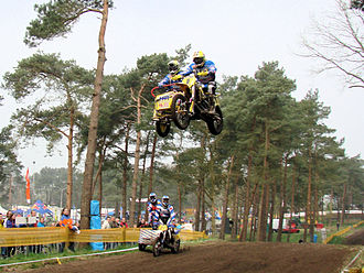 2010 Sidecarcross World Championship - The 2010 champion Daniël Willemsen in action in 2009.