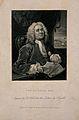 Daniel Lock. Stipple engraving by B. Holl after W. Hogarth. Wellcome V0003646.jpg