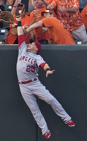 Daniel Nava - Nava playing for the Los Angeles Angels of Anaheim in 2016