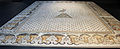 Daphné, mosaico della fenice con cornice di capri affrontati, VI sec dc. 03.JPG
