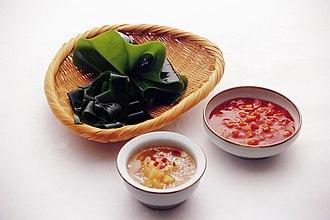 Saccharina japonica - Image: Dasima ssam