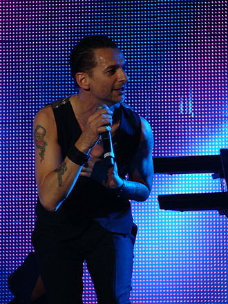 Dave Gahan - Gahan with Depeche Mode in 2009.
