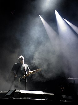 David Gilmour with The Black Strat
