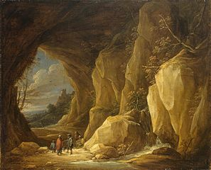 Landscape with a Grotto and a Group of Gipsies
