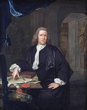 Hieronymus van der Mij - Portrait of David van Royen, by Hieronymus van der Mij
