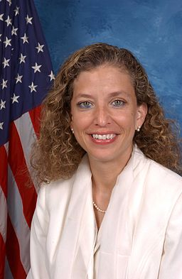 Debbie Wasserman Schultz, official photo portrait, color