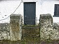 Decorative gate to old cottage - geograph.org.uk - 721482.jpg