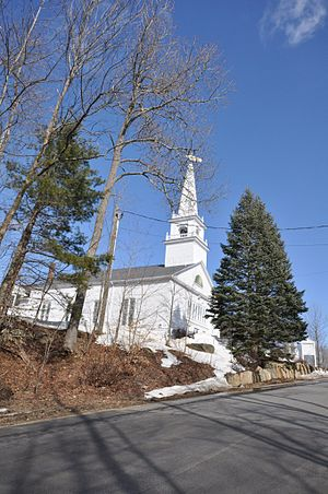 Deerfield, New Hampshire - Church in the town center