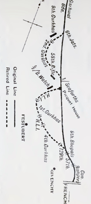Defence of Festubert - Defence of Festubert 23–24 November 1914