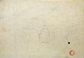 Dehodencq A. - Pencil - Etude de personnages assis et d'un couple de danseurs - 22x16cm.jpg