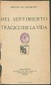 Del sentimiento trágico de la vida 1912 Unamuno.jpg