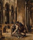 Delacroix - Marguerite à l'église (Goethe Faust, 1ère partie, scène dans la cathédrale), nach 1850.jpg