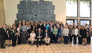 Jewish Federations of North America - Delegation of Jewish Federations of North America  in Israel