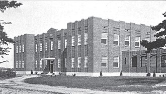 Central State Hospital (Virginia) - Building for delinquent females