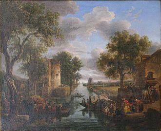 Jean-Louis de Marne - A canal