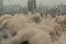 File:Demolition of the HNA Development Building.ogv
