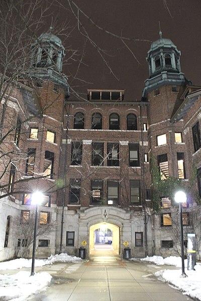 File:Dennison Archway & West Hall, University of Michigan, Ann Arbor, Michigan.JPG