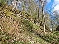 Der niedrigste Albaufstieg - Alte Steige und Steighof, Die Weißensteiner Steige ist mit 70 Metern Höhenunterschied der wohl niedrigste Aufstieg auf die Alb. Daher bildete sie seit der Römerzeit einen strategisch wi - panoramio (1).jpg