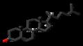 Desmosterol 3D skeletal.png