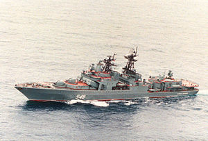 Udaloy-class destroyer - Image: Destroyer Admiral Panteleyev