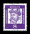 Deutsche Bundespost - Bedeutende Deutsche - Johannes Gutenberg - 8 Pfennig.jpg