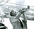 Dexter Morrill playing NEXT Trumpet at Frost Amphitheater at Stanford University Palo Alto CA.jpg