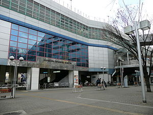 Deyashiki Station north entrance.jpg