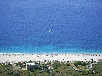 Dhërmi - A view of the Dhërmi coastline