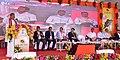 Dharmendra Pradhan addressing the gathering at the foundation stone laying ceremony for new Dhamra - Angul 36 inch main natural gas pipeline and Bhubaneshwar – Cuttack – Paradip 12 inch spur line under Urja Ganga Yojana.jpg