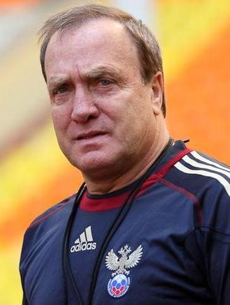 Dick Advocaat - Dick Advocaat with Russia in 2011