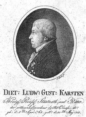 Dietrich Ludwig Gustav Karsten cover