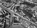 Dijon60, crue de l'Ouche et inondations fin septembre 1965, inondation du port du canal et du quai Nicolas Rollin.jpg