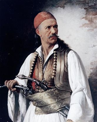 Aetolia - Dimitrios Makris(c. 1772 – 1841) a native of Aetolia was a Greek chief klepht, armatole, military commander and fighter of the 1821 Greek war of independence.