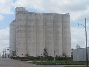Castro County, Texas - Image: Dimmitt, TX, grain elevator IMG 4833