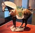 Dinastia tang, cavallo sellato, 700-720 dc ca.jpg