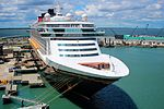 Disney Cruise Ship tied up at the Disney Terminal, Port Canaveral - Florida.jpg