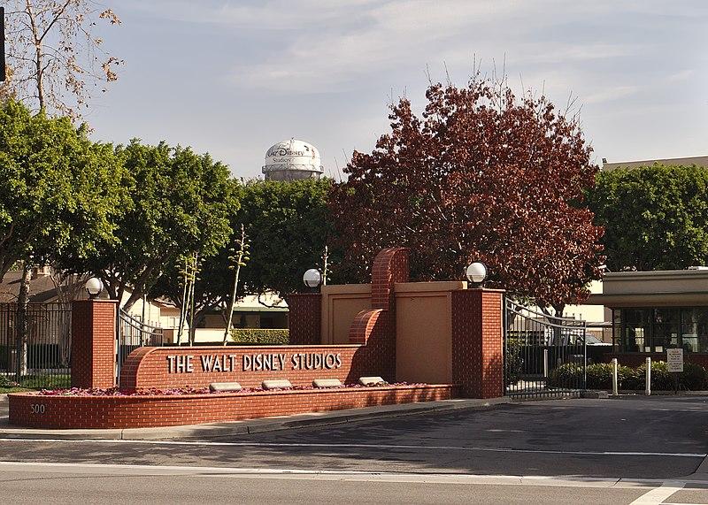 File:Disney studios burbank entrance gate buena vista.jpg