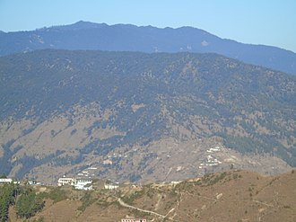 Dudhatoli - Dudhatoli mountains as seen from Kalinka temple near Garhwal-Kumaon border, Pauri district.