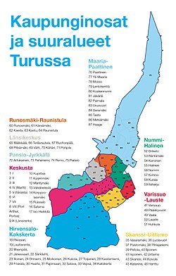Turun Kaupunginosat Wikipedia