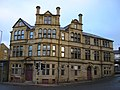 Disused Public House-Hotel at the junction of Sunbridge Road and Grattan Road, Bradford - geograph.org.uk - 1728213.jpg