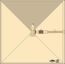 Аннотированная карта подструктуры Джедкаре Исеси.